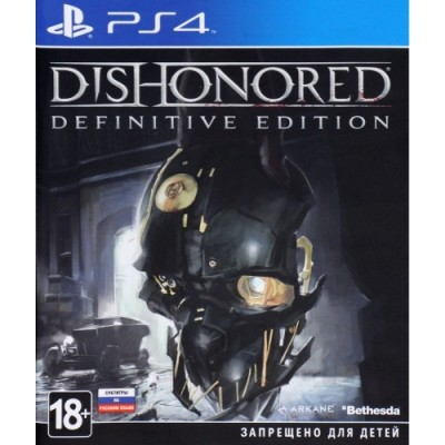 Dishonored Definitive Edition [PS4, русские субтитры]