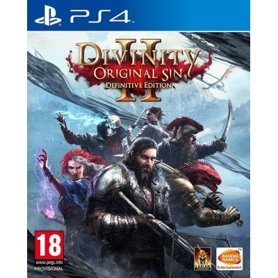 Divinity Original Sin 2 - Definitive Edition [PS4, русские субтитры]