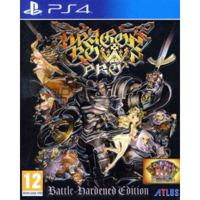 Dragons Crown Pro - Battle Hardened Edition [PS4, английская версия]