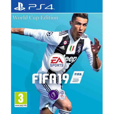 FIFA 19 - World Cup Edition [PS4, русская версия]