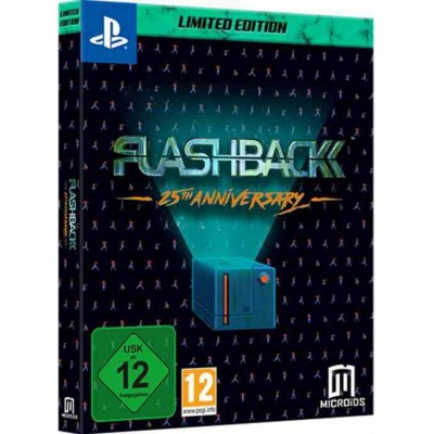Flashback 25th Anniversary - Collectors Edition [PS4, английская версия]