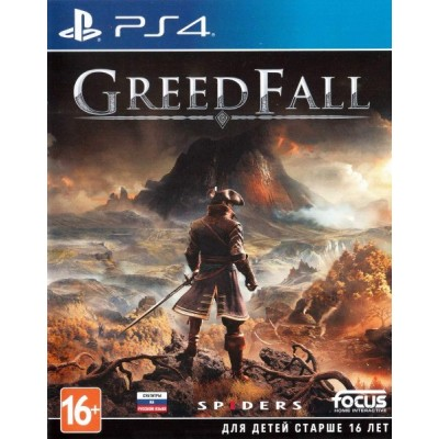 Greed Fall [PS4, русские субтитры]