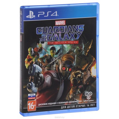 Marvels Guardians of the Galaxy Telltales Games [PS4, русские субтитры]