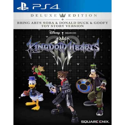 Kingdom Hearts 3 Deluxe Edition [PS4, английская версия]