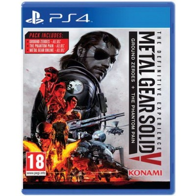 Metal Gear Solid 5: The Definitive Experience [PS4, русские субтитры]