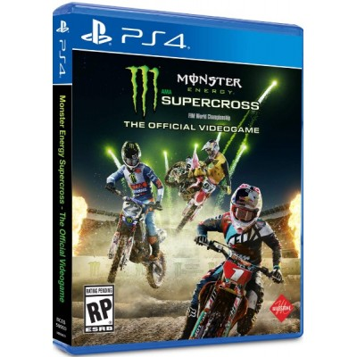 Monster Energy Supercross - The Oficial Videogame [PS4, английская версия]