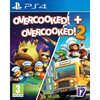 Overcooked! - Double Pack (1+2) [PS4, английская версия]