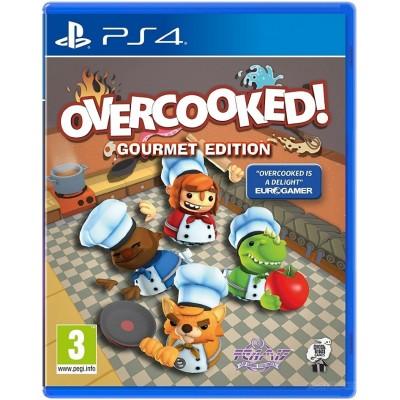 Overcooked Gourment Edition (Адская кухня) [PS4, английская версия]