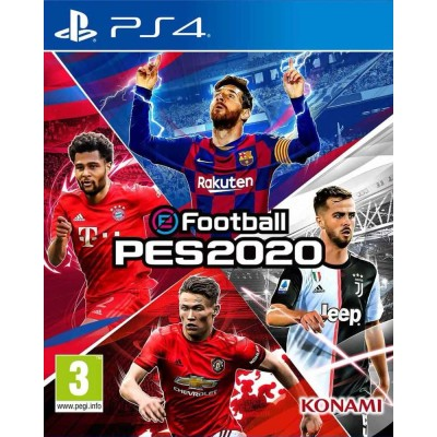 PES 2020 Pro Evolution Soccer (eFootball) [PS4, русские субтитры]