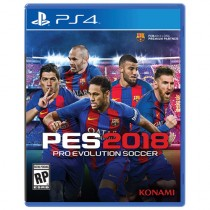 Pro Evolution Soccer (PES) 2018 [PS4]