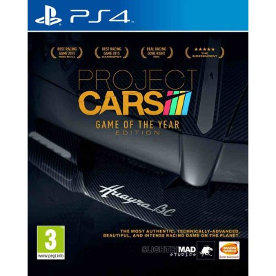 Project CARS - Game of the Year Edition [PS4, русские субтитры]