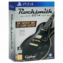 Rocksmith 2014 - Remastered (Игра + кабель для гитары) [PS4]