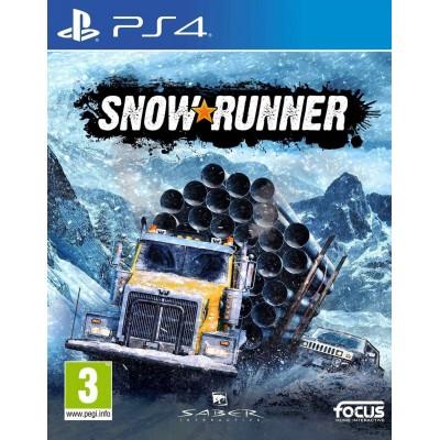 SnowRunner [PS4, русская версия]