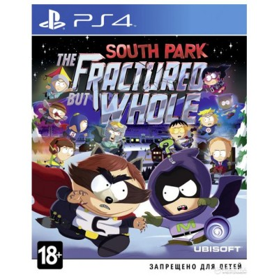 South Park The Fractured but Whole [PS4, русские субтитры]