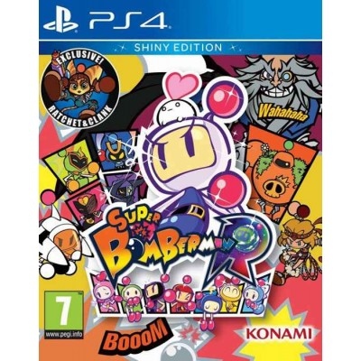 Super Bomberman R - Shiny Edition [PS4, русские субтитры]