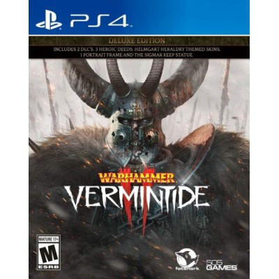 Warhammer - Vermintide II Deluxe Edition [PS4, русские субтитры]