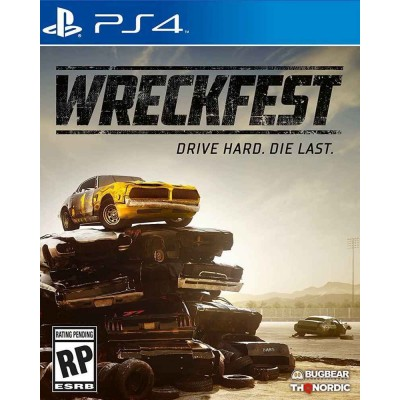 Wreckfest [PS4, русские субтитры]