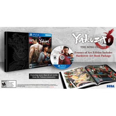 Yakuza 6 The Song of Life - Essence of Art Edition [PS4, английская версия]