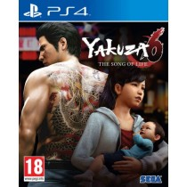 Yakuza 6 The Song of Life [PS4]