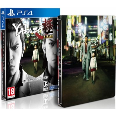 Yakuza Kiwami Steelbook Edition [PS4, английская версия]