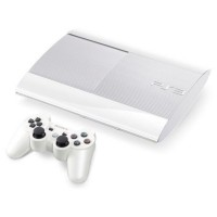 Sony PlayStation 3 CECH-4008a [White, 12 Gb]