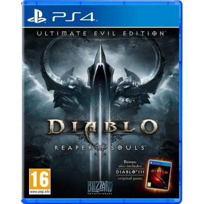 Diablo 3: Reaper of Souls - Ultimate Evil Edition [PS4, русская версия]