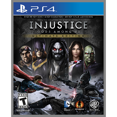 Injustice Gods Among Us - Ultimate Edition [PS4, русские субтитры]