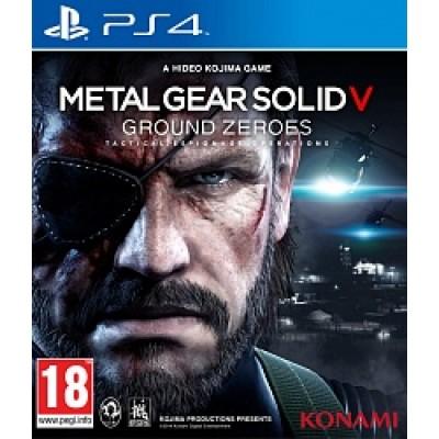 Metal Gear Solid 5 Ground Zeroes [PS4, русские субтитры]