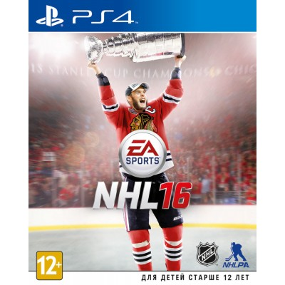 NHL 16 [PS4, русские субтитры]