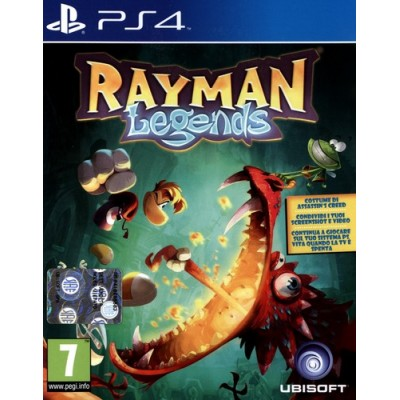 Rayman Legends [PS4, русская версия]