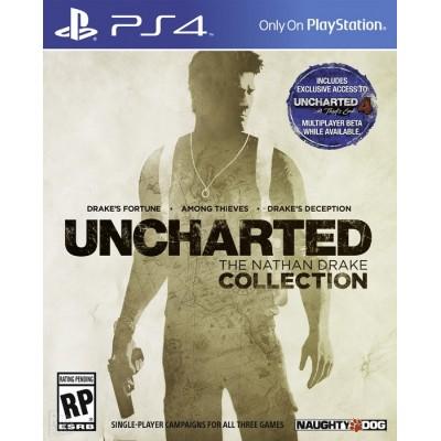 Uncharted: Натан Дрейк Коллекция [PS4, русская версия]