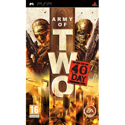 Army of Two The 40th Day [PSP, английская версия]