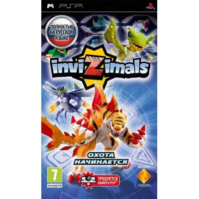 Invizimals [PSP, русская версия]
