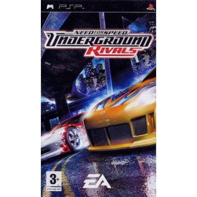 Need for Speed Undeground Rivals [PSP, русская версия]