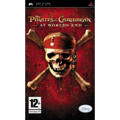 Pirates of the Caribbean At Worlds End [PSP, английская версия]