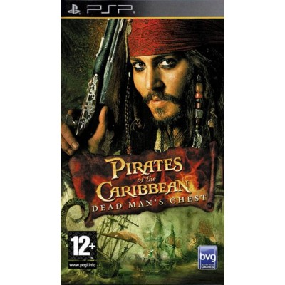 Pirates of the Caribbean Dead Mans Chest [PSP, английская версия]