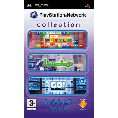PlayStation Network Collection Puzzle Pack (Go! Puzzle, Go! Sudoku, Lemmings) [PSP, русская версия]