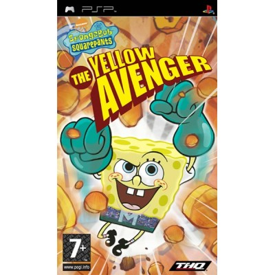 Spongebob Squarepants - The Yellow Avenger [PSP, английская версия]