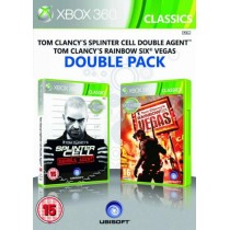 Комплект игр Tom Clancy's: Splinter Cell Double Agent + Rainbow Six Vegas [Xbox 360]