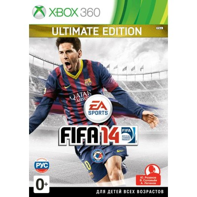 FIFA 14 - Ultimate Edition [Xbox 360, русская версия]