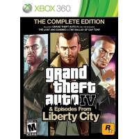 Grand Theft Auto IV (GTA 4) and Episodes From Liberty City [Xbox 360]