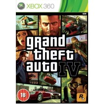 Grand Theft Auto IV (GTA IV) [Xbox 360]