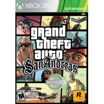 Grand Theft Auto San Andreas [Xbox 360]