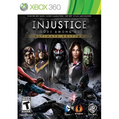Injustice Gods Among Us - Ultimate Edition [Xbox 360, русские субтитры]