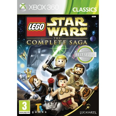 LEGO Star Wars The Complete Saga [Xbox 360, английская версия]