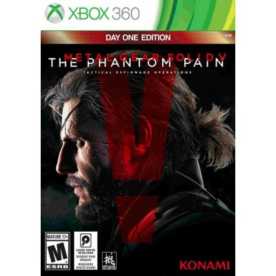 Metal Gear Solid V The Phantom Pain [Xbox 360, русские субтитры]
