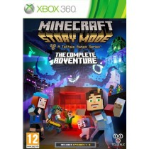 Minecraft Story Mode - The Complete Adventures (эпизоды 1-8) [Xbox 360]