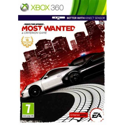 Need for Speed Most Wanted (поддержка Kinect) [Xbox 360, английская версия]