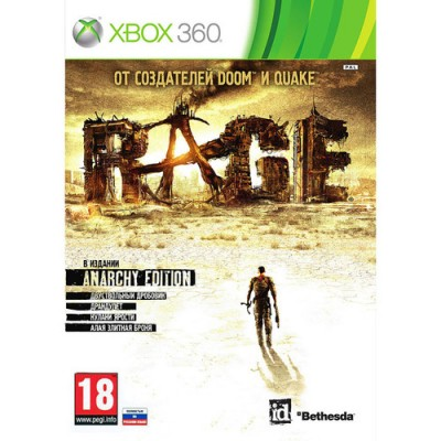 Rage - Anarchy Edition [Xbox 360, русская версия]