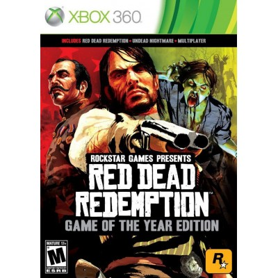 Red Dead Redemption - Game of the Year Edition [Xbox 360, английская версия]